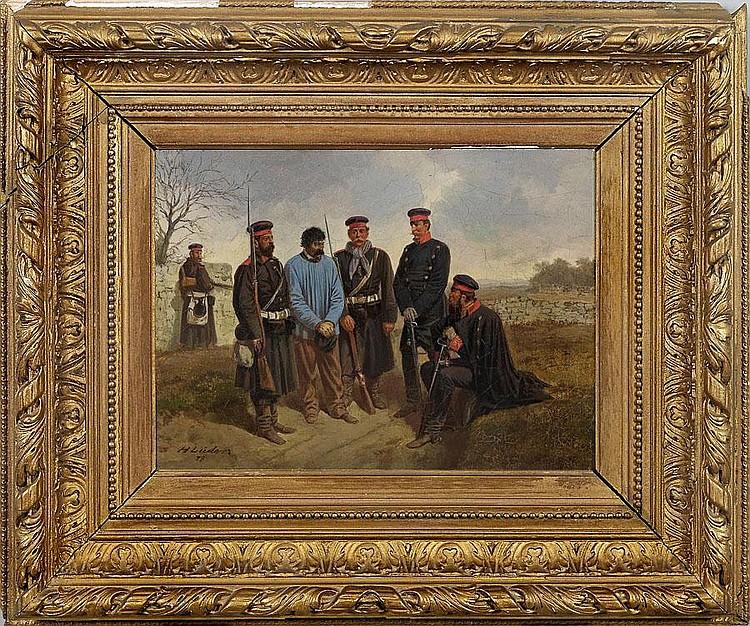 HERMANN LÜDERS (1836 Osterwieck/Harz - 1908