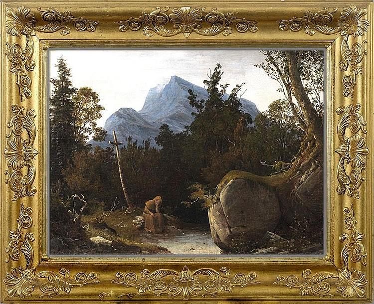 AUGUST WILHELM JULIUS AHLBORN (1796 Hannover -