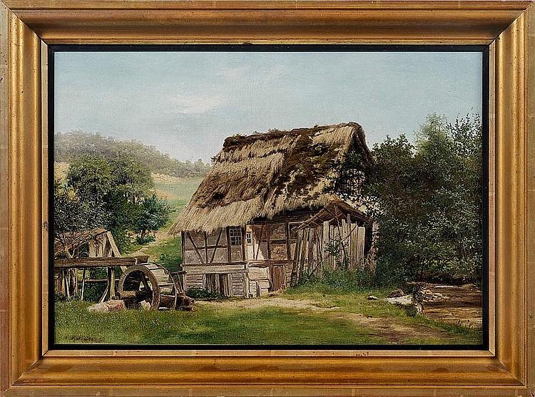 EDMUND KOKEN (1814 Hannover - 1872 ebenda)