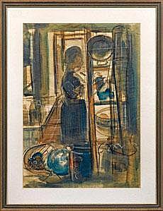 Ernst Thoms (1896 Nienburg - 1983 Hannover)