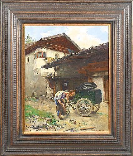 HERMANN LINDENSCHMIT (1857 Frankfurt/M. - 1939