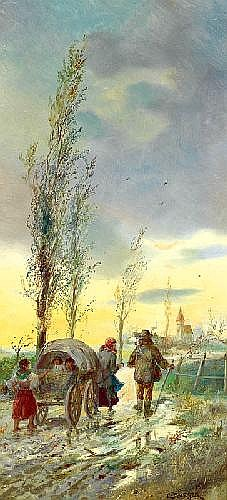 LOTHAR MICHAEL BÜRGER (1866 Wien - 1943