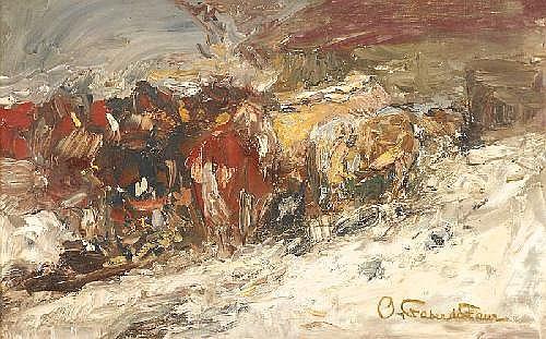 OTTO VON FABER DU FAUR (1828 Ludwigsburg - 1901