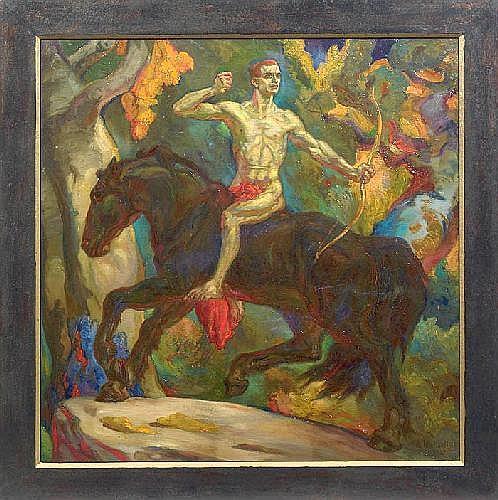 ARTHUR MICHAELIS (1864 Leipzig - 1946 ebenda)