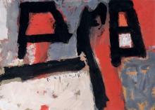 "Gerd Mackensen ""Zwei im Februar"". 1989."