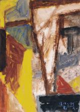 "Gerd Mackensen ""Gelber Weg"". 1989."