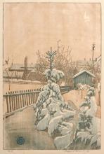 Siegfried Berndt, Winterliche Gaerten. 1909.