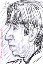 """Hubertus Giebe """"Frannz von Promnitz"""". 2002."""
