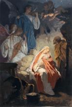Alexander Zick, Geburt Jesu. Late 19th cent.