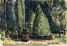 """Hubertus Giebe """"Wenzkats Garten, Medingen"""". 2006."""