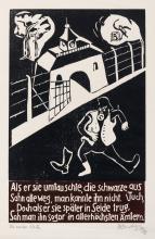 """Herbert Sandberg """"Die weisse Weste """". 1950/ 1976."""