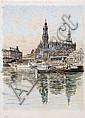 Fritz Beckert, Dresden - Hofkirche. Um 1950., Fritz Beckert, Click for value