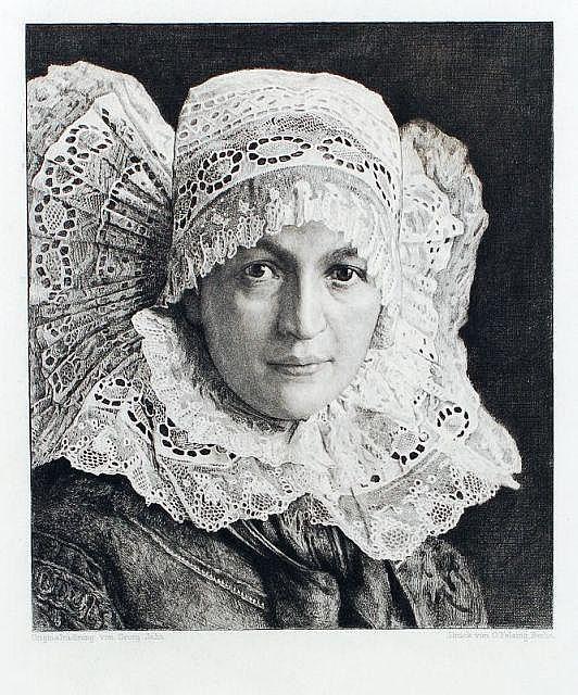 Georg Jahn, Vier Mädchenportraits. 1st quarter 20th cent.