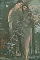 Paul Schad-Rossa, Adam und Eva. Um 1910., Paul Schad-Rossa, Click for value