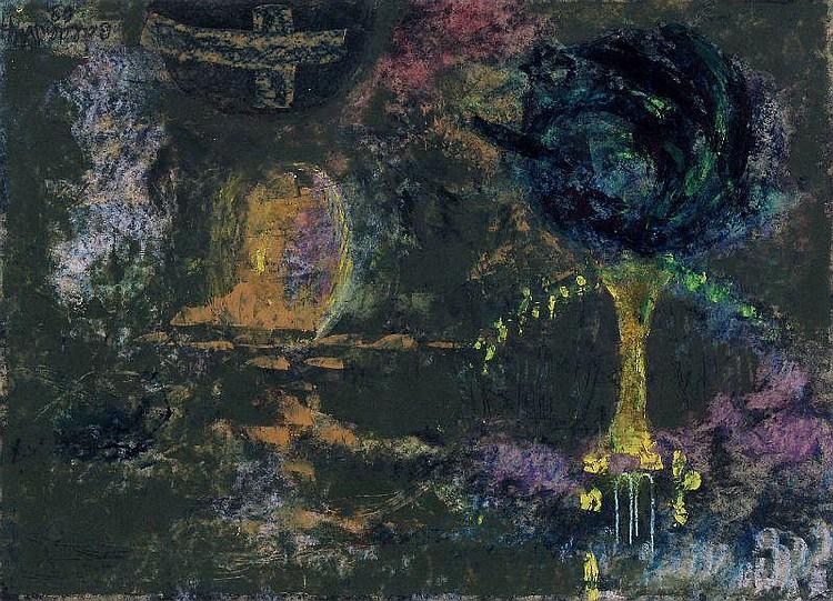 Annemarie Balden-Wolff, Abstrakte Komposition. 1969.