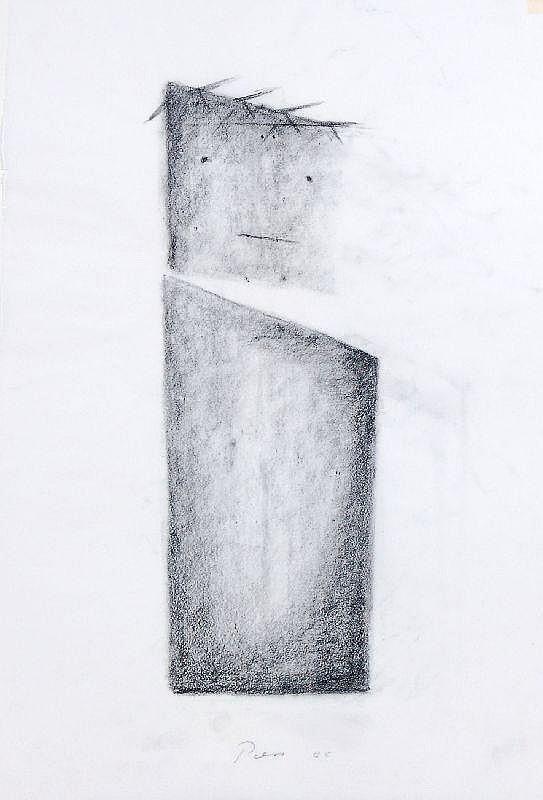 Friedrich Press, Dornengekrönter Christus. 1988.