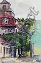 Martin Erich Philipp (MEPH), Konvolut von 20 Stadt- und Dorfansichten. Um 1908., Martin Erich Philipp, Click for value