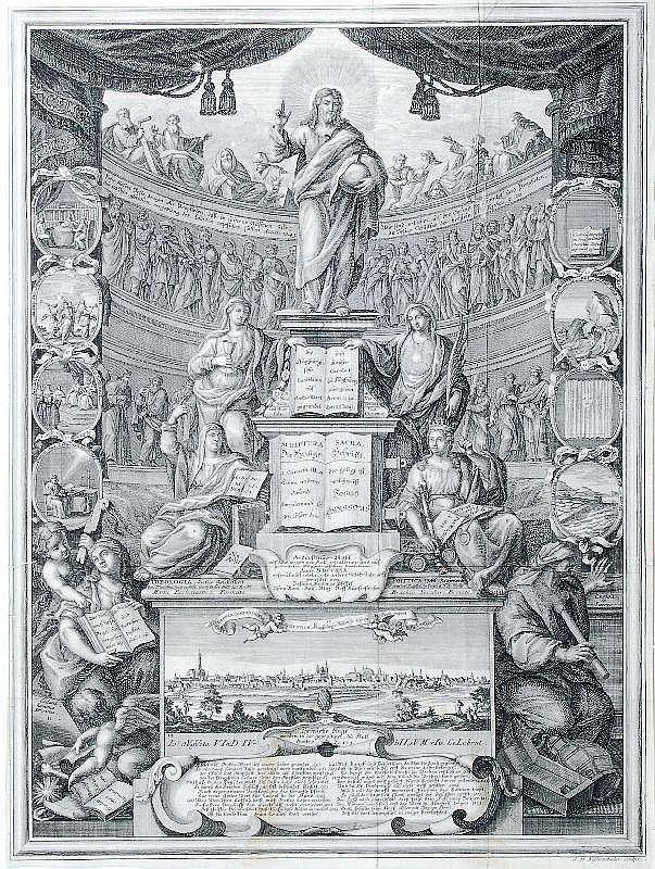 Georg David Nessenthaler, Jubiläumsblatt