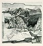 Peter Sylvester, Ohne Titel. 1961.Etching Blatt in, Peter Sylvester, Click for value