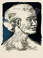 Gabriele Mucchi, Portrait Anna Sehgers (?)., Gabriele Mucchi, Click for value