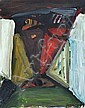 Frank Panse, Abstrakte Komposition. 1991.