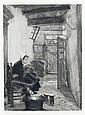 Eduard Büchel, Fünf Mädchendarstellungen. 2nd half 19th cent.