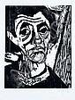 Heinz Tetzner, Selbst vor einem Bild. 1956., Heinz Tetzner, Click for value