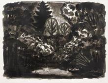 """Hubertus Giebe """"Der Garten"""". 1995."""