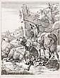 Johann Heinrich Roos, Drei Schaf- und Ziegendarstellungen. 1665- 1675.