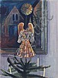 Paul Wilhelm, Weihnachten im Haus des Künstlers. Um 1950., Paul (1886) Wilhelm, Click for value