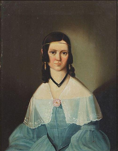 Unbekannter Künstler, Bildnis einer Dame/ Bildnis eines Herren. Um 1835.