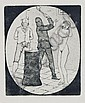 Martin Erich Philipp (MEPH), Vier erotische Darstellungen und Exlibri