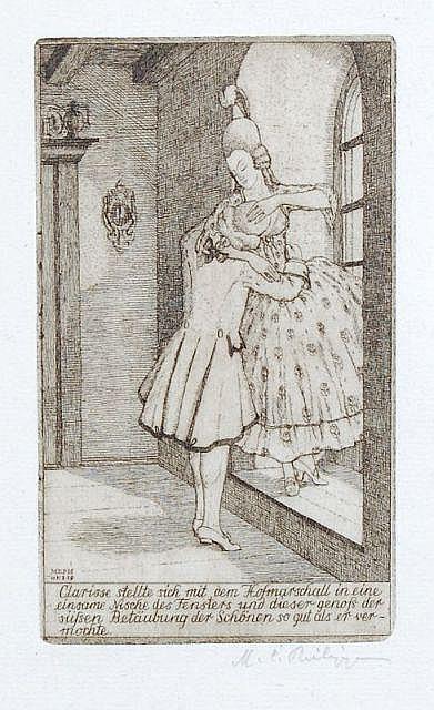 Martin Erich Philipp (MEPH), Vier Illustrationen zu
