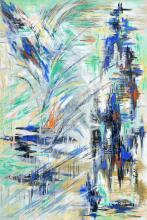 Raffaele Castello, Abstrakte Komposition. 1956.