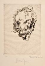 Robert Friedrich Karl Scholtz, Portraet Richard Strauss. No date.