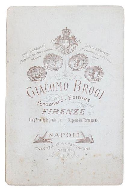 Giacomo Brogi, Neun Ansichten von Mailand. Um 1880.