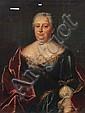 Unbekannter Künstler, Bildnis der Christiane Elisabeth Lingke. 2nd half 18th cent.