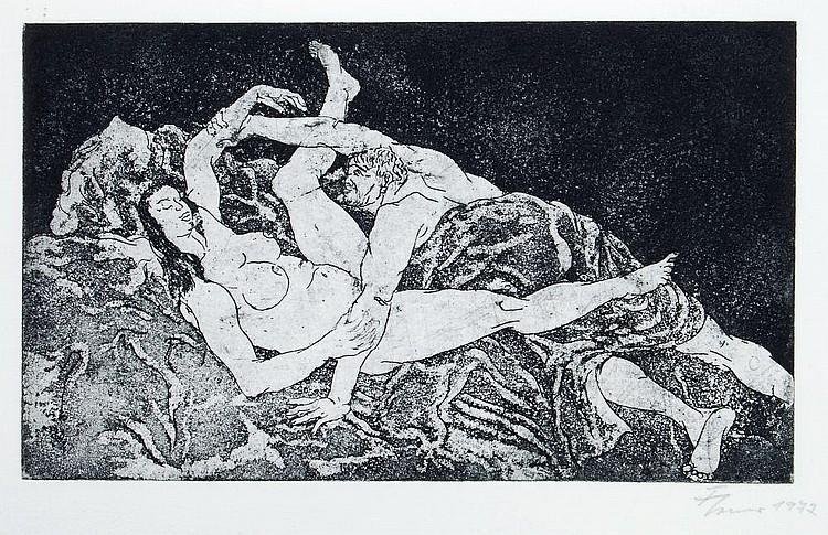 Fritz Cremer, Leidenschaftliche Szenerie. 1972.
