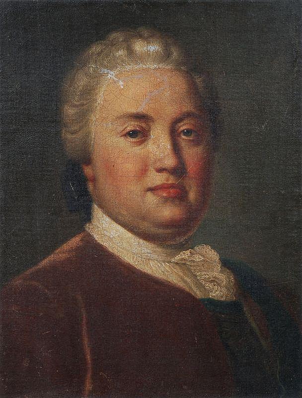 Pietro Antonio Rotari(Umkreis), Bildnis des Kurprinzen Friedrich Christian von Sachsen. Um 1755.