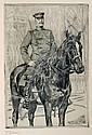 Wilhelm Trübner, Reiter. No date.