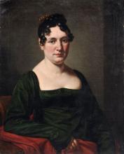 Deutscher Maler, Damenportrait. 1st half 19th cent.