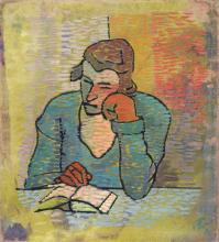 Franz Bartlakowski (Bi), Lesende. 1928.