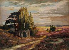 Karl Bock, Maerkische Heidelandschaft. Early 20th cent.