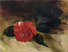 Arno Drescher, Kamelienbluetenzweig. 1942.