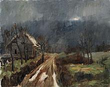Luc Faisant, Landschaft. No date.