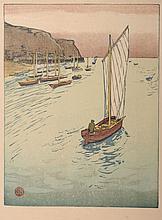 """Siegfried Berndt """"Auf der Reede I"""". Um 1911."""
