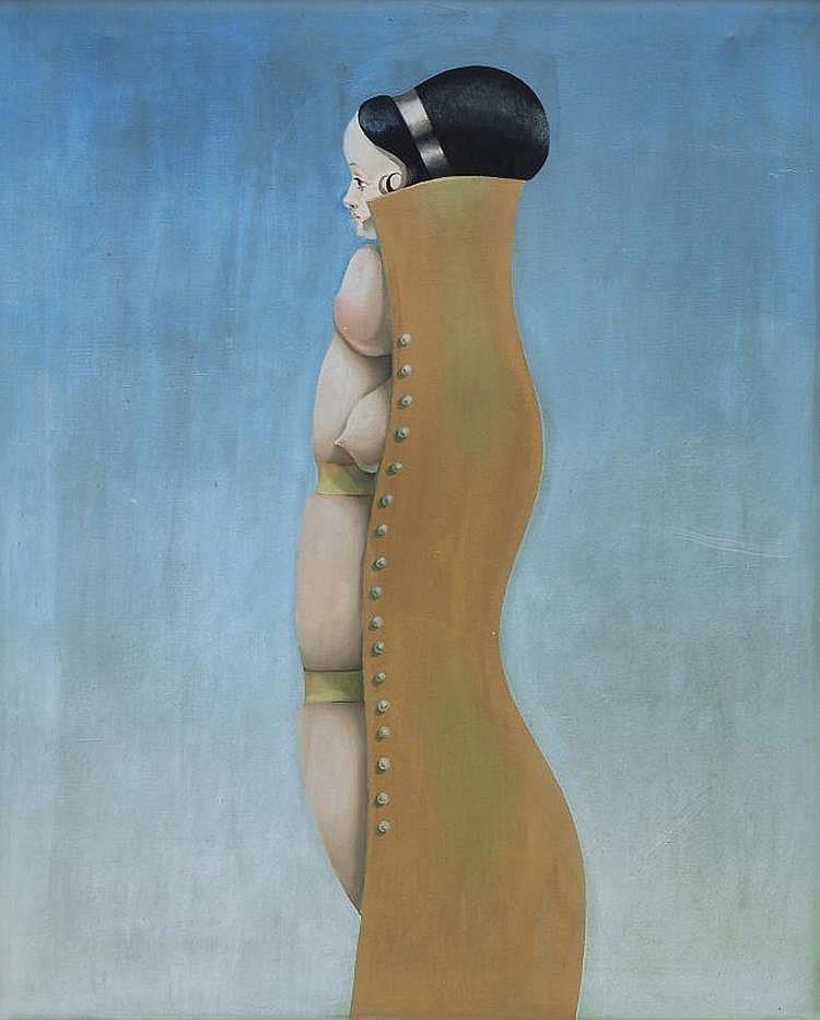 Henri Plotin, Eingeschnürt. 1968.