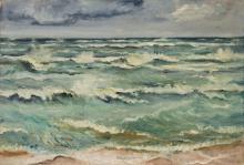 """Alfred Teichmann """"Sturm"""". 1937."""