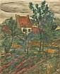 Hanns Müller, Konvolut von sieben Landschafts- und Aktzeichnungen. 1920er/ 1930's.