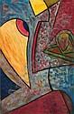 Paul Knothe, Komposition. Um 1970.